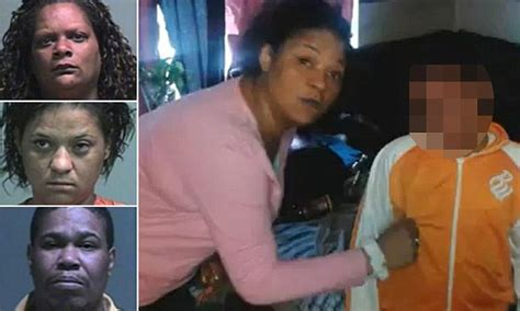 mother  grandmother arrested  beating son