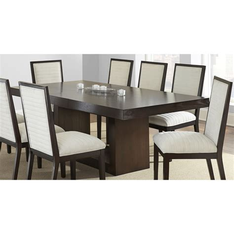 modern black dining table and chairs dining room contemporary black dining table and chairs