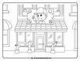 Handy Manny Coloring Disney Sheets Pages Repair Template sketch template