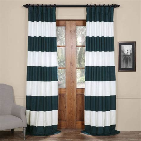 Striped Curtain Panels 96 by 2066prct Hs01 96 055