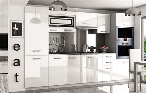 Kaufexpert  Küchenzeile Moderno Weiß Hochglanz 300 Cm