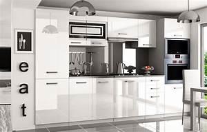 Hochglanz Weiß Küche : kaufexpert k chenzeile moderno wei hochglanz 300 cm ~ Michelbontemps.com Haus und Dekorationen
