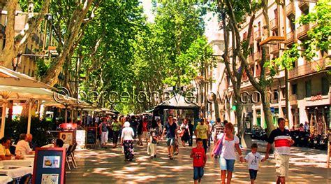 Barcelona 2020 - La Rambla street is main tourist street ...