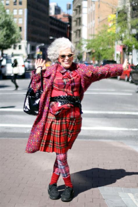 quirky older peoples fashion style images