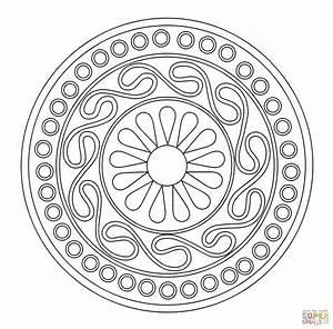 Ausmalbild Keltisches Ornament Ausmalbilder Kostenlos