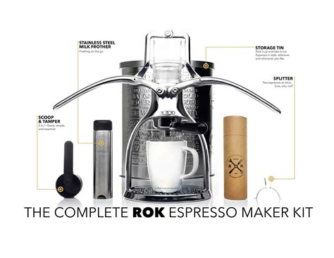 • 18 480 просмотров 2 года назад. Rok espresso maker - the award winning rok is a revolutionary way to make cafe   Camping coffee ...