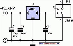 Power Supply For Usb Devices