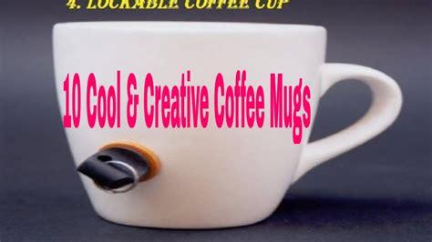 10 Cool & Creative Coffee Mugs! Most Beautiful Top 10