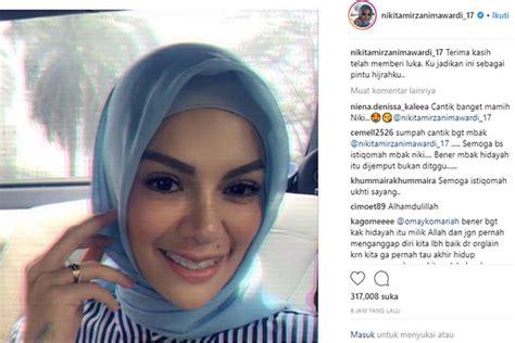 Insya Allah Istiqomah Nikita Mirzani Berhijab Bolmut Post