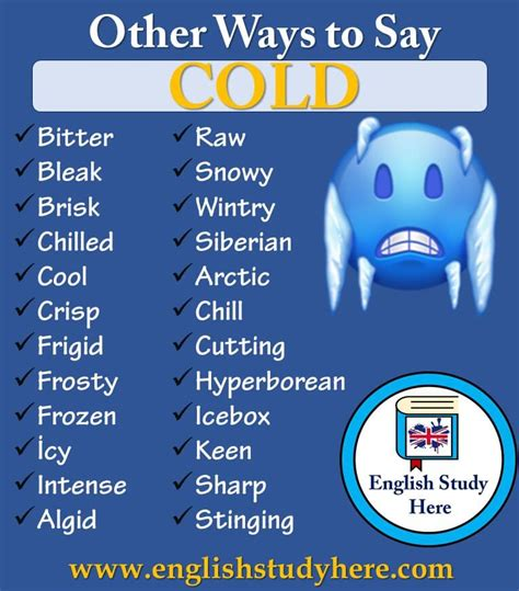 ways   cold english study