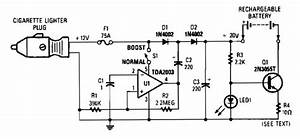 12 Vdc Mobile Battery Charger Circuit Diagram World