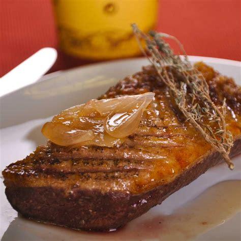 cuisine magret de canard recette magret de canard au miel cuisine madame figaro