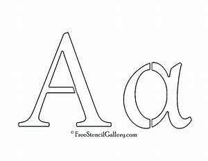 greek letter alpha free stencil gallery With greek letter cutouts