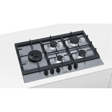 piani di cottura siemens piano cottura siemens ec845sb90e acciaio inox 75 cm siemens