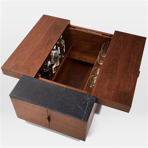 Hyde Hidden Storage / Secret Mini Bar Coffee Table