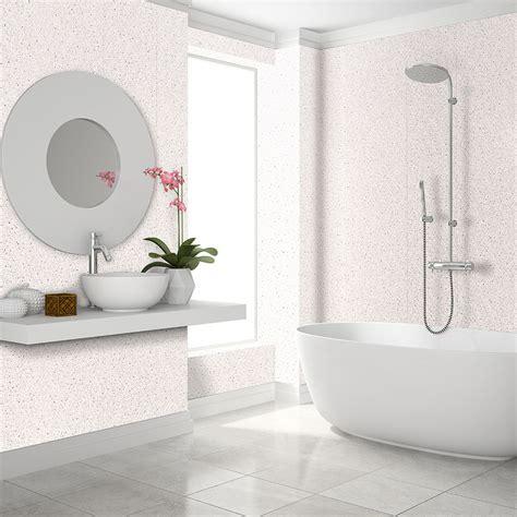 decorwall elite white sparkle bathroom cladding mb decor