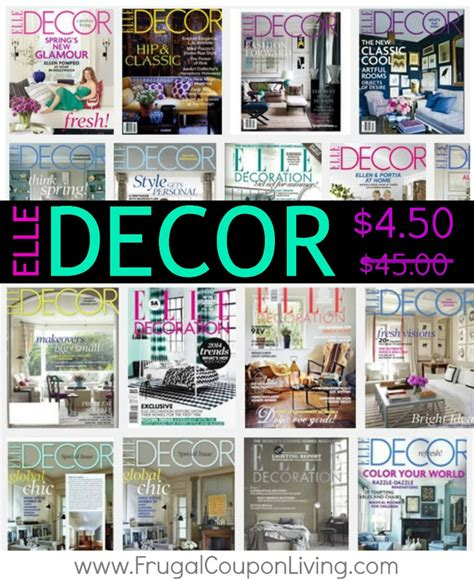decor magazine subscription sale 4 50 from 45