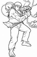 Ryu Coloring Fighter Lineart Tenebrae Angelus Drawings Template Popular Deviantart Os Mystuff sketch template