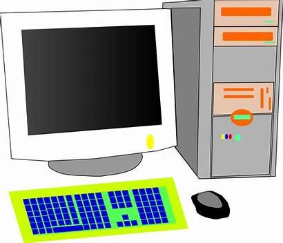 Computer Personal Clipart Vector Clip Computers Desktop