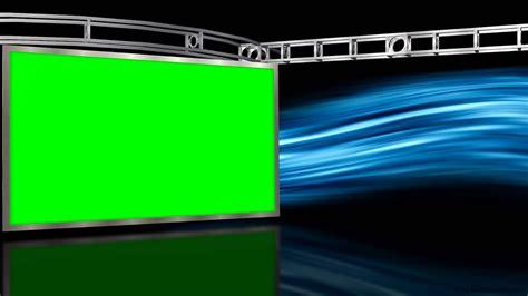 virtual studio  green screen wall  motion