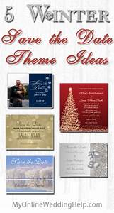 5 Winter Save the Date Theme Ideas - My Online Wedding