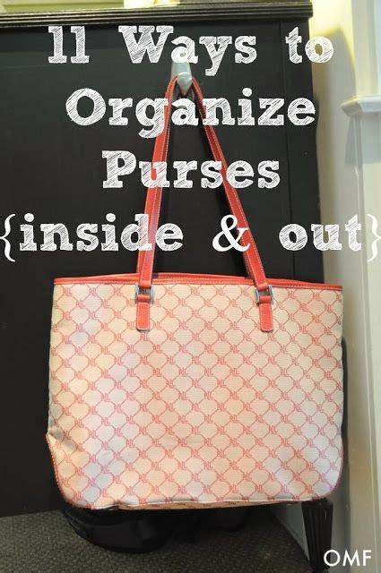 25 best ideas about organize purses on purse