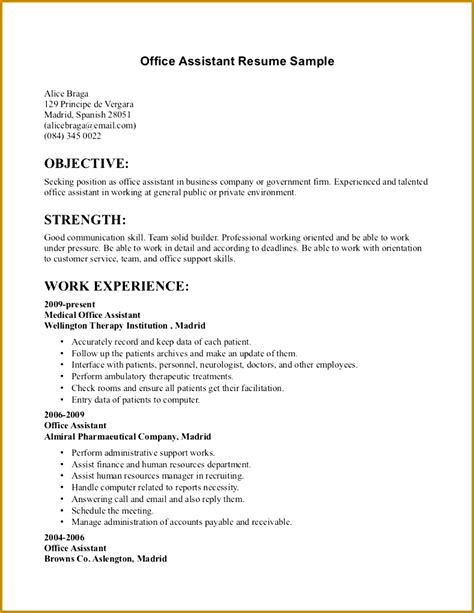 Setup For A Resume by 7 How To Set Up References On Resume Fabtemplatez