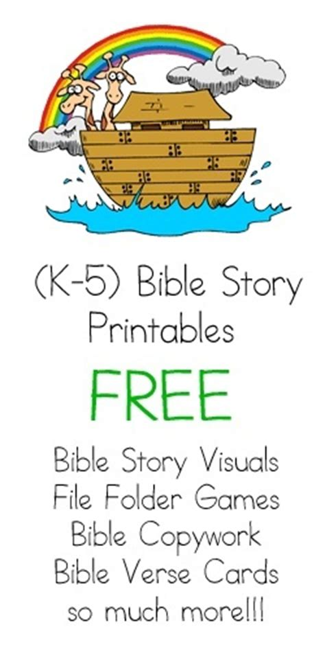 sunday school bible stories and printables on 794 | ce4b818af016b4563783d304a410229a