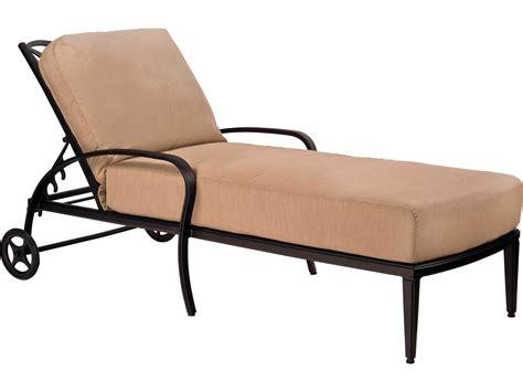 chaise alu woodard apollo aluminum chaise lounge 7u0470