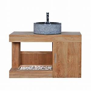 meuble sous vasque teck meuble sous vasque teck sur With meuble sous vasque en teck