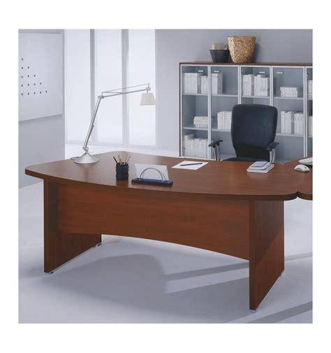 scrivanie in legno scrivania sagomata con gamba in legno offixstore