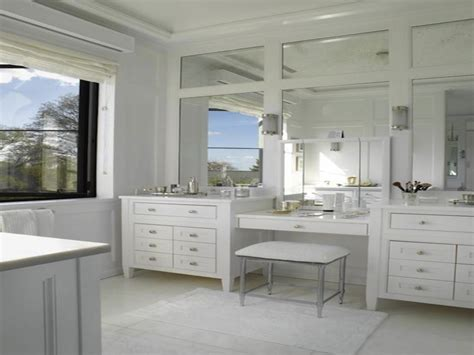 Master Bathroom Vanity With Makeup Area by Bathroom Vanities With Makeup Area Master Bathroom Vanity