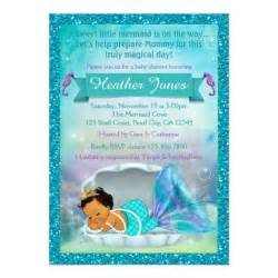 adorable mermaid baby shower invitations 136 med zazzle