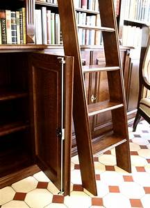 Bücherwand Mit Leiter : regalwand mit t ren und leiter erle massiv 270x400x45cm ebay ~ Indierocktalk.com Haus und Dekorationen
