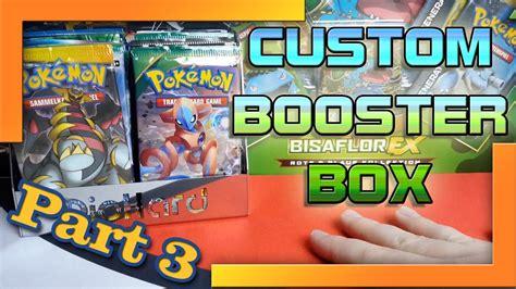 Custom Booster Box! Selbst Erstelltes Pokémon Karten