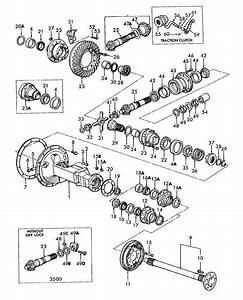 04a01 - Rear Axle  Differential  U0026 Related Parts