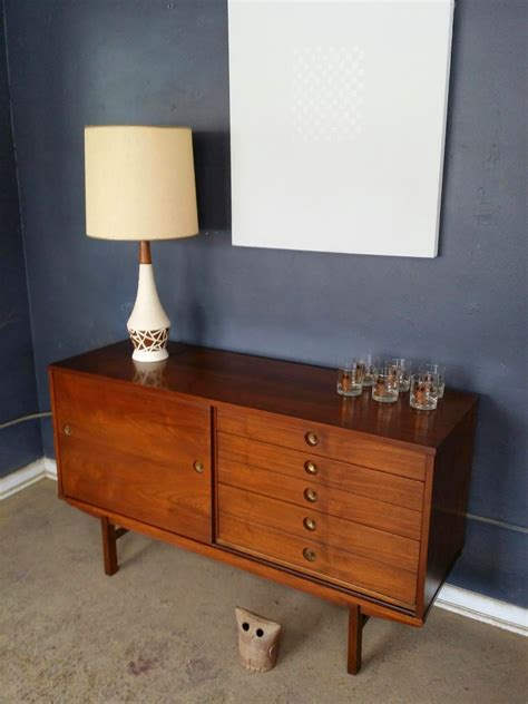 Buffet Credenza Sideboard by Vintage Ground Mid Century Buffet Sideboard Media Stand