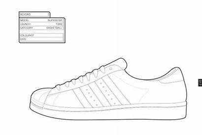 Coloring Sneaker Sneakers Adidas Pages Shoes Jordan
