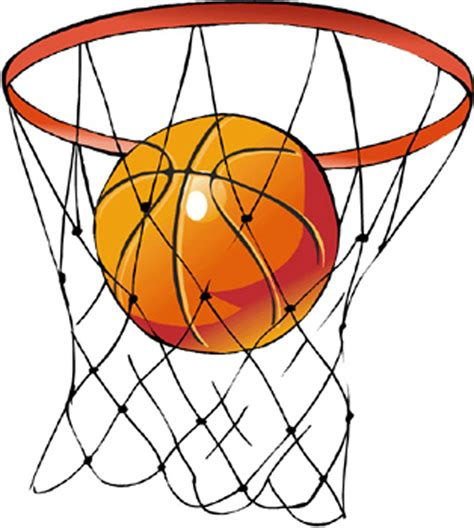 Basketball Net Clipart by Basketball Net Clipart Cliparts Co