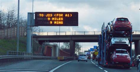 vms ms motorway signs