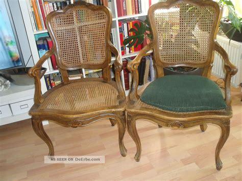 Antike Stühle Mit Geflecht antike st 252 hle 2 st mit geflecht