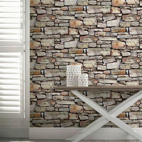 cornish stone effect wallpaper  bq stone wallpaper