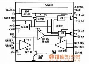 Ka3524 Ic Internal Diagram Circuit And Pin Function
