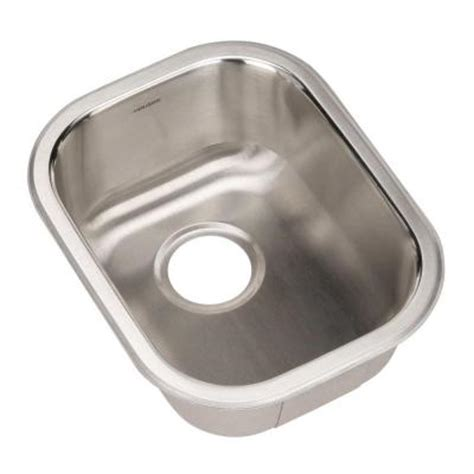 home depotca bar sink houzer club series undermount stainless steel 17 2 in