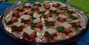 Apero Dinatoire Noel : recette facile les minis pizzas toil es pour l 39 apero ~ Melissatoandfro.com Idées de Décoration