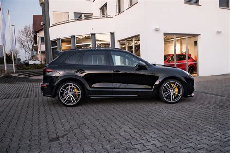 techart lets loose porsche cayenne based magnum carscoops