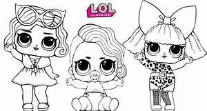 Lil Pearl Diva And Leading Baby Lol Surprise Coloring Page Copy