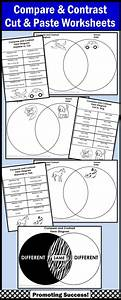 Compare And Contrast Worksheets Venn Diagram Activities