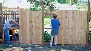 Sichtschutzzaun Selber Bauen : sichtschutzzaun selber bauen tipps zu grundlagen ~ Lizthompson.info Haus und Dekorationen
