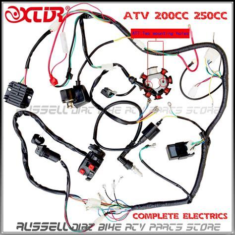 wire loom 150cc 200cc 250cc ignition coil cdi engine